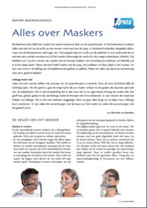 informatieblad maskers